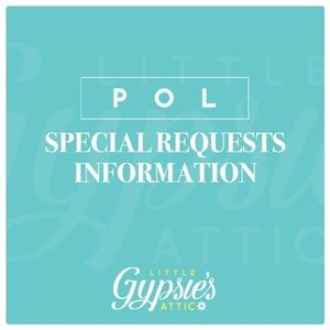 POL SPECIAL REQUESTS INFO